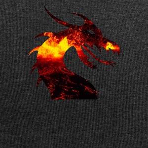 dragon on fire - Jersey-Beanie