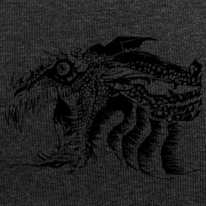 Black and White Dragon. - Jersey-Beanie