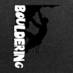 Bouldering Print - Jersey-Beanie