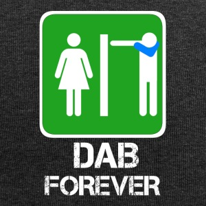 DAB FOREVER WC/ Dabbare in bagno - Beanie in jersey