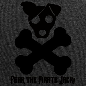 Dog / Jack Russell: Frykt The Pirate Jack! - Jersey-beanie