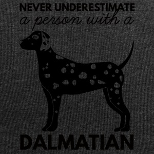 Hund / Dalmatiner: Never Underestimate A Person - Jersey-Beanie