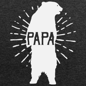 Papa Bear Father's Day - fathers day - Jersey Beanie