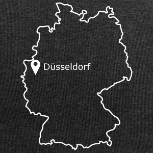 place to be: Düsseldorf - Jersey-Beanie