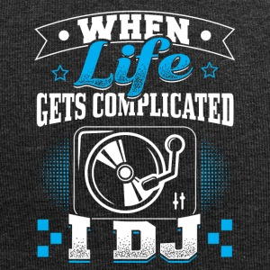 DJ WHEN LIFE GETS COMLICATED - Jersey-Beanie