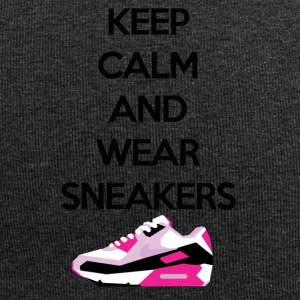 Keep calm and wear Sneakers - Jersey-Beanie