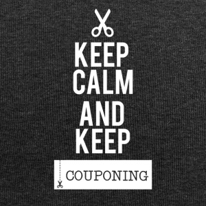 Couponing/Geschenke: Keep Calm an keep Couponing - Jersey-Beanie
