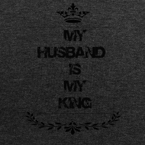 my husband is my king - Jersey Beanie