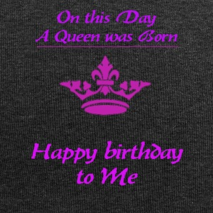 Happy Birthday queen - Jersey Beanie