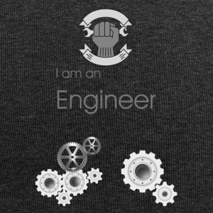 i am an engineer - Jersey Beanie