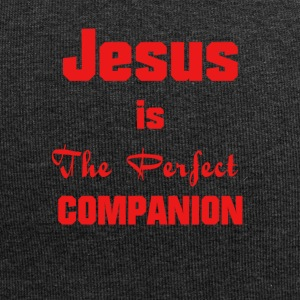Jesus-Christ, the perfect companion - Jersey Beanie