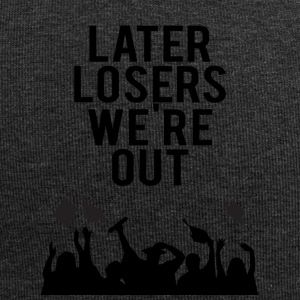 High School / Graduation: Later Losers we're out. - Jersey Beanie