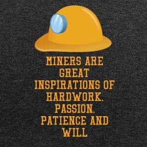 Mining Miners are great inspirations of hard wor - Jersey Beanie