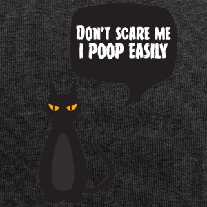 Halloween: Do not Scare Me, I Poop Easily - Jersey Beanie
