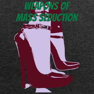 weapons of mass seduction - Jersey Beanie