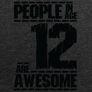PEOPLE IN AGE 12 ARE AWESOME - Jersey Beanie