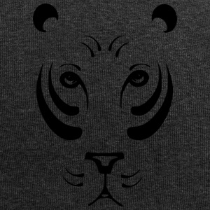 Lioness black and withe - Jersey Beanie