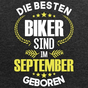 The best bikers are born in September - Jersey Beanie