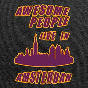 aMSTERDAM Awesome people live in - Jersey Beanie