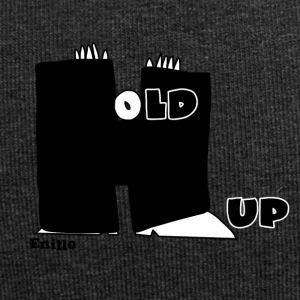 Enillo Hold Up Grafik & Typographie - Jersey-Beanie