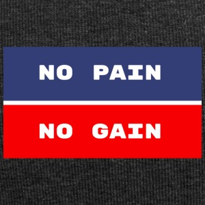 NO PAIN NO GAIN - Bonnet en jersey