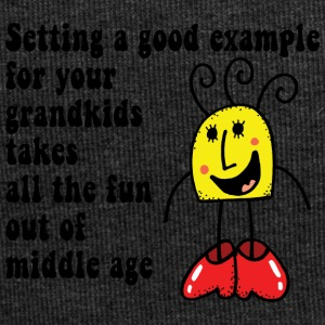 Funny Grand Kids - Jersey Beanie