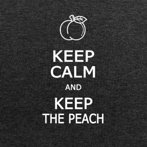 Keep calm and keep the peach - Jersey Beanie