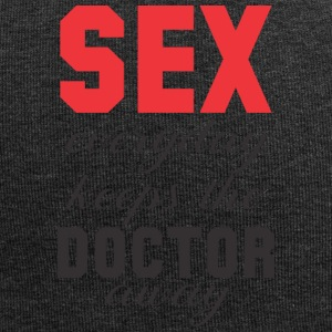 Sex keeps the Doctor away! 2. Edition - Jersey Beanie