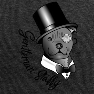 gentleman Staffy - Jersey-beanie