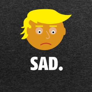 Sad Trump | Fun Shirt | Emotionen des Präsidents - Jersey-Beanie