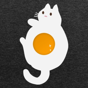 Funny egg cat - Jersey Beanie