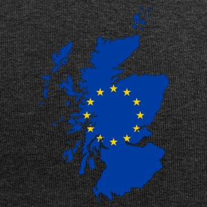 Scotland Map with EU Flag - Jersey Beanie