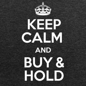 KEEP CALM AND BUY & HOLD - Jersey Beanie