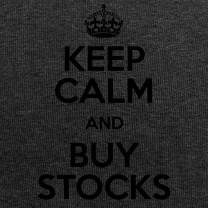 KEEP CALM AND BUY STOCKS - Jersey-Beanie
