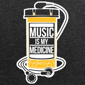 Music is my medicine - Jersey Beanie