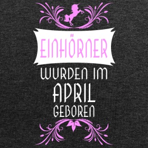 Einhörner April - Jersey-Beanie