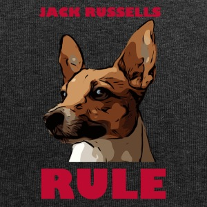 Jack russels rule red - Jersey Beanie