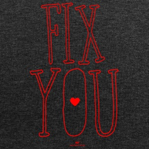 Fix you - Jersey-Beanie