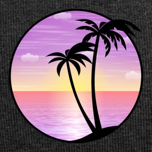 Palms mer vacances plage 02 Allround Designs - Bonnet en jersey
