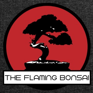 Le logo Flaming Bonsai final Société - Bonnet en jersey