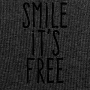 Smile it's free - Bonnet en jersey