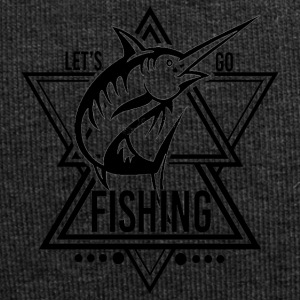 Lets go Fishing - We love Fishing - Jersey Beanie