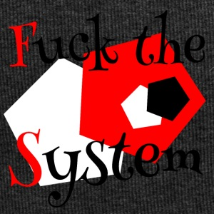 Fuck the system 1 - Jersey-beanie