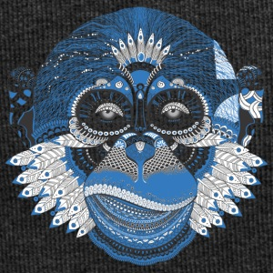 Monkey aap schedel aaphoofd Indian Style - Jersey-Beanie