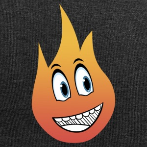 flamme smil - Jersey-Beanie