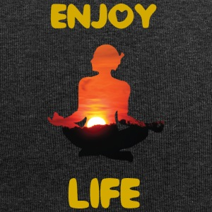 #Yoga #Meditation #Enjoy your Life T-shirt - Jersey-Beanie