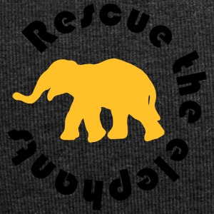 Protects the elephants - Jersey Beanie