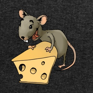 Fiese mouse rodent mouse vermin rodent cheese - Jersey Beanie
