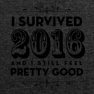 I Survived 2016 and I still feel Pretty Good - Jersey Beanie