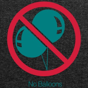No Balloons - Jersey Beanie